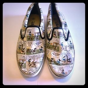 Disney Mickey Mouse Comic Slip-on Sneakers